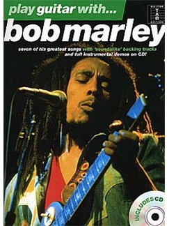 Play Guitar With... Bob Marley CD et Livre | Tablature Guitare (Symboles d'Accords)