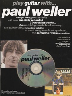 Play Guitar With... Paul Weller Books and CDs | Guitar Tab, with chord symbols