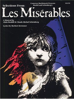 Selections From Les Miserables For Flute Books | Flute, with chord symbols