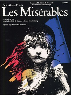 Selections From Les Miserables For Violin Books | Violin