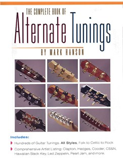 The Complete Book Of Alternate Tunings Books | Guitar