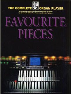 The Complete Organ Player: Favourite Organ Pieces Livre | Orgue (Symboles d'Accords)
