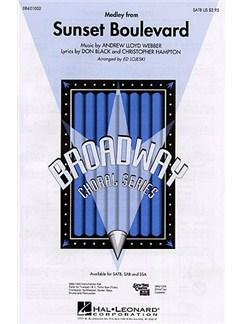 Andrew Lloyd Webber: Sunset Boulevard - Medley (SATB) Books   Soprano, Alto, Tenor, Bass, Piano