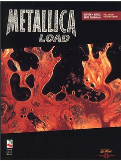 Play It Like It Is Guitar: Metallica - Load Books | Guitar Tab, with guitar chord boxes
