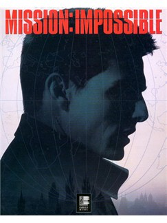 Theme From Mission Impossible Books | Piano and Voice, with Guitar chord boxes