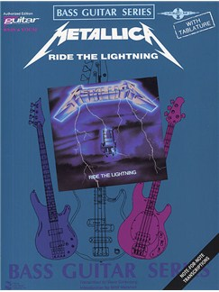 Play It Like It Is Bass: Metallica - Ride The Lightning Books | Bass Guitar Tab, with chord symbols