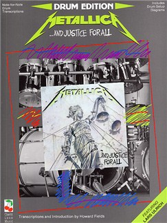 Metallica: ... And Justice For All Drum Edition Books | Drums