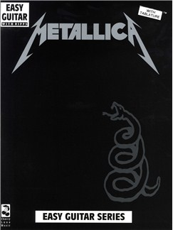 Metallica: The Black Album - Easy Guitar With Riffs Books | Guitar Tab, with chord symbols
