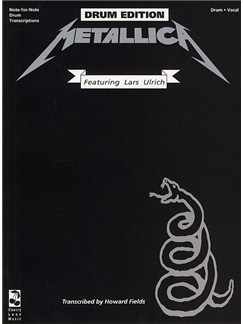 Metallica: The Black Album - Drum Edition Books | Drums