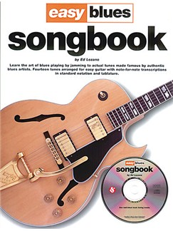Ed Lozano: Easy Blues Songbook Bog og CD | Guitar Tab(med becifring)