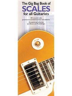 The Gig Bag Of Scales For All Guitarists Books | Guitar Tab
