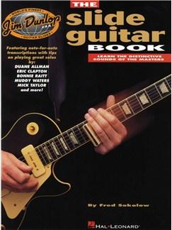 The Dunlop Slide Guitar Book Books | Guitar Tab, with chord symbols