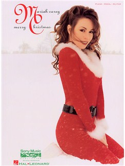 Mariah Carey: Merry Christmas Books | Piano and Voice, with Guitar chord boxes