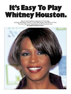 It's Easy To Play Whitney Houston Books | Piano and Voice, with Guitar chord symbols