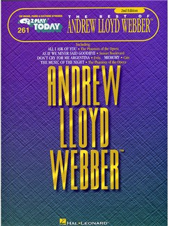 E-Z Play Today 261: The Best Of Andrew Lloyd Webber Books | Melody line & lyrics, with chord symbols