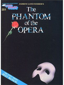 E-Z Play Today 251: The Phantom Of The Opera Books | Melody Line, Lyrics & Chords
