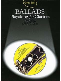 Guest Spot: Ballads Playalong For Clarinet Books and CDs | Clarinet