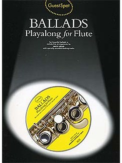 Guest Spot: Ballads Playalong For Flute Books and CDs | Flute