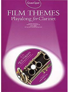 Guest Spot: Film Themes Playalong For Clarinet Books and CDs | Clarinet