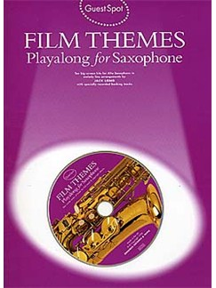 Guest Spot: Film Themes Playalong For Saxophone Books and CDs | Alto Saxophone