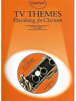 Guest Spot: TV Themes Playalong For Clarinet Books and CDs | Clarinet