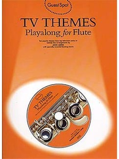 Guest Spot: TV Themes Playalong For Flute Books and CDs | Flute