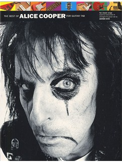 The Best Of Alice Cooper Books | Guitar Tab, with chord symbols