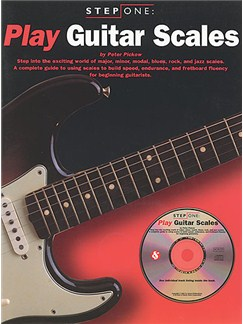 Step One Play Guitar Scales Books and CDs | Guitar Tab