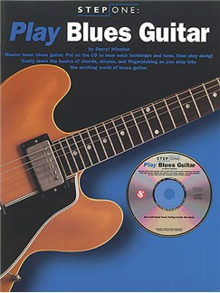 Step One Play Blues Guitar Books and CDs | Guitar Tab, with chord symbols