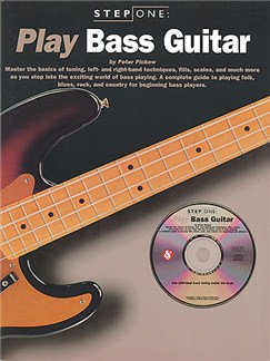 Step One Play Bass Guitar Books and CDs | Bass Guitar Tab, with chord symbols