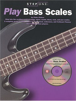 Step One: Play Bass Scales Books and CDs | Bass Guitar Tab