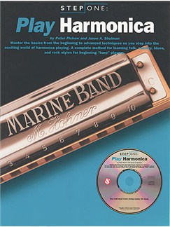 Step One Play Harmonica Books and CDs | Harmonica, with chord symbols