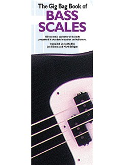 The Gig Bag Book Of Bass Scales Books | Bass Guitar Tab
