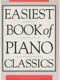Easiest Book Of Piano Classics Books | Piano & Guitar, with chord symbols
