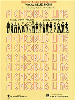 Marvin Hamlisch: A Chorus Line - Vocal Selections Books | Piano and Voice, with Guitar chord boxes