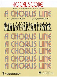 A Chorus Line: Vocal Score Books | Voice, Piano