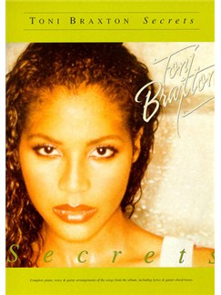 Toni Braxton: Secrets Books | Piano and Voice, with Guitar chord boxes