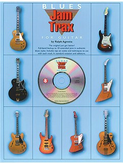 Jam Trax Blues For Guitar Books and CDs | Guitar Tab, with chord symbols