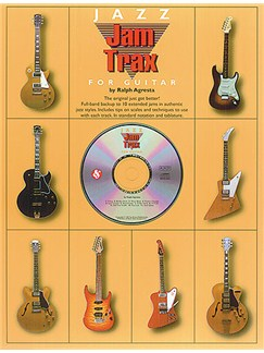 Jam Trax Jazz For Guitar Books and CDs | Guitar Tab, with chord symbols