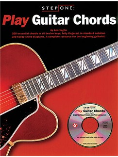 Step One: Play Guitar Chords Books and CDs | Guitar, with guitar chord boxes