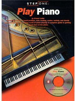 Step One: Play Piano Books and CDs | Piano