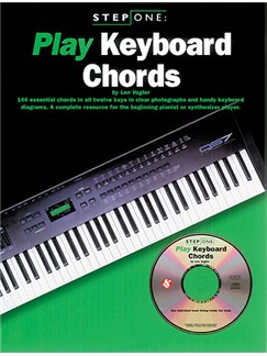 Step One Play Keyboard Chords Books and CDs | Keyboard