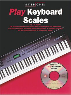 Step One Play Keyboard Scales Books and CDs | Keyboard