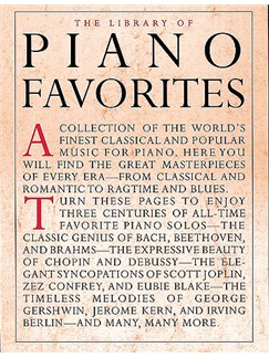 Library Of Piano Favorites Books | Piano Accompaniment