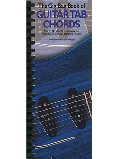 The Gig Bag Book Of Guitar Tab Chords Books | Guitar Tab, with guitar chord boxes