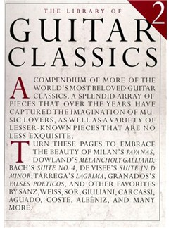 The Library Of Guitar Classics 2 Books | Guitar, Classical Guitar