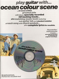 Play Guitar With... Ocean Colour Scene Books and CDs   Guitar Tab, with chord symbols