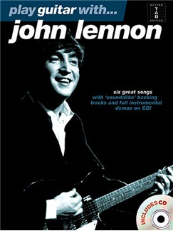 Play Guitar With... John Lennon CD et Livre | Tablature Guitare (Symboles d'Accords)