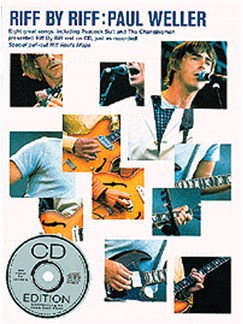 Riff By Riff: Paul Weller Books and CDs | Guitar Tab, Lyrics & Chords, with chord symbols