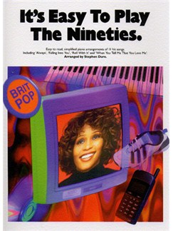 It's Easy To Play The Nineties Books | Piano and Voice, with Guitar chord symbols
